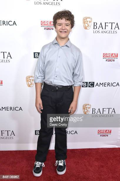 Gaten Matarazzo attends the BBC America BAFTA Los Angeles TV Tea Party 2017 Arrivals at The Beverly Hilton Hotel on September 16 2017 in Beverly...