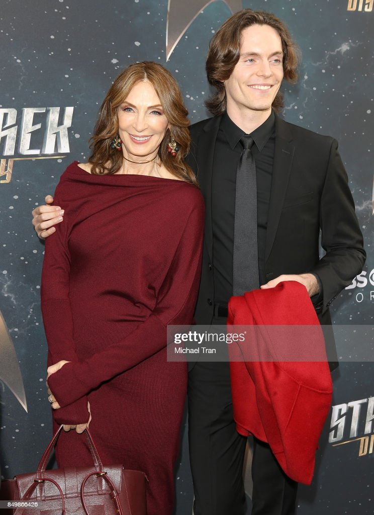 Gates McFadden (L) and James McFadden Talbot attend the Los Angeles premiere of CBS's 'Star Trek: Discovery' held at The Cinerama Dome on September 19, 2017 in Los Angeles, California.