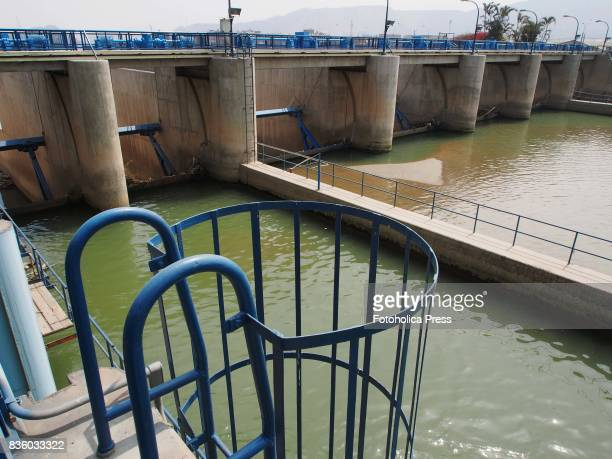 Gates of the Atarjea drinking water plant on the Rimac river The Lima Water and Sewerage Service organized a tour of its facilities 'By the water...