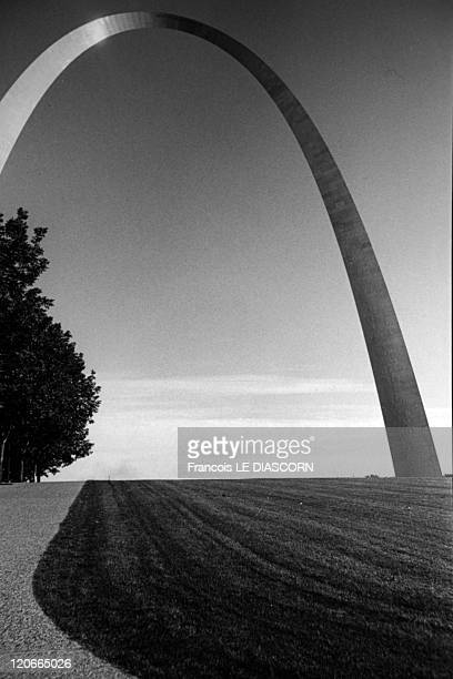 Gateway Arch architecte Eero Saarinen in Amarillo United States in 1993