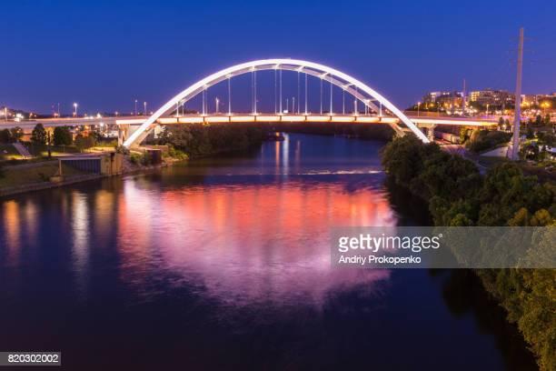 Gateway Boulevard Bridge in Nashville, Tennessee, USA