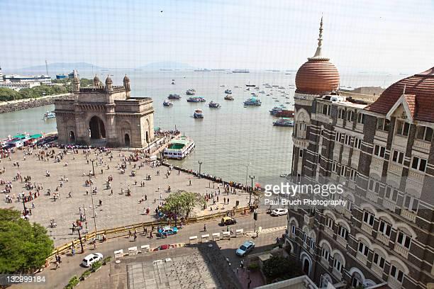 Gateway of India and Taj Mahal Hotel Mumbai