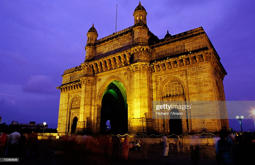 Gateway of India at dusk, Mumbai, India : Stock Photo