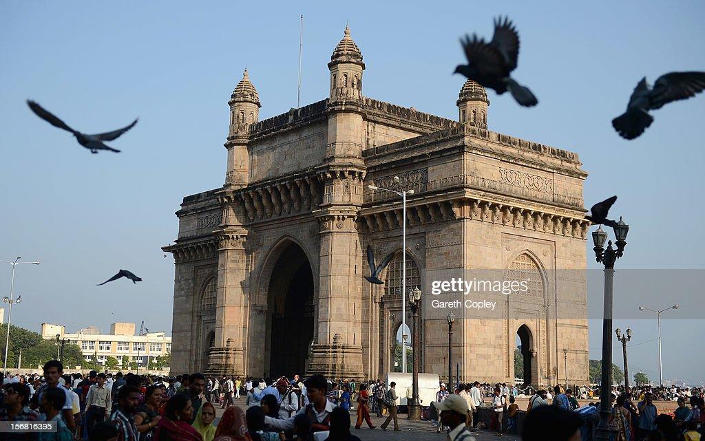 Gateway of India monument on November 21, 2012 in Mumbai, India.