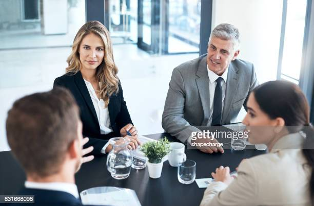Gathered in the boardroom