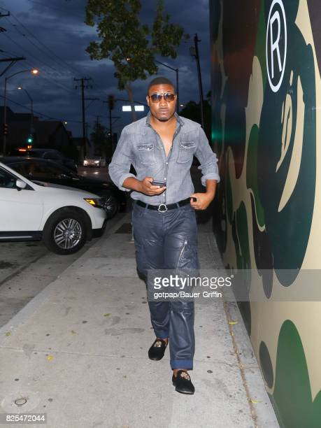 Gatsby Randolph is seen on August 01 2017 in Los Angeles California