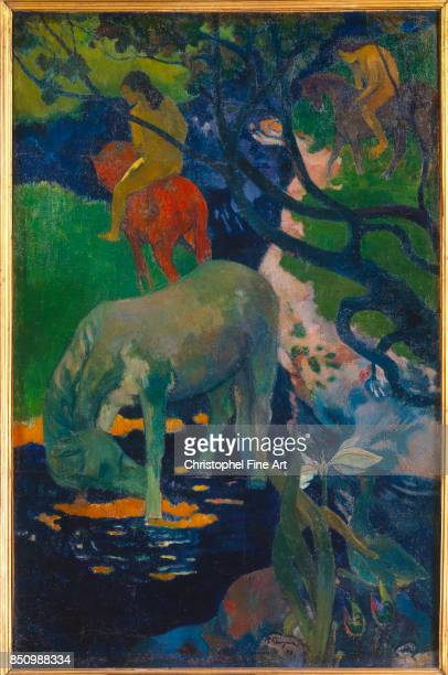 Gauguin Paul The White Horse 1898 Paris Orsay Museum