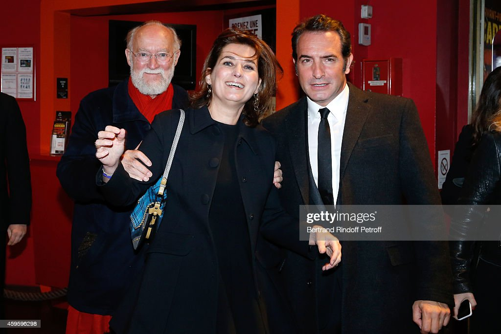 Paris premiere cinema gaumont capucine getty images for Dujardin nicolas