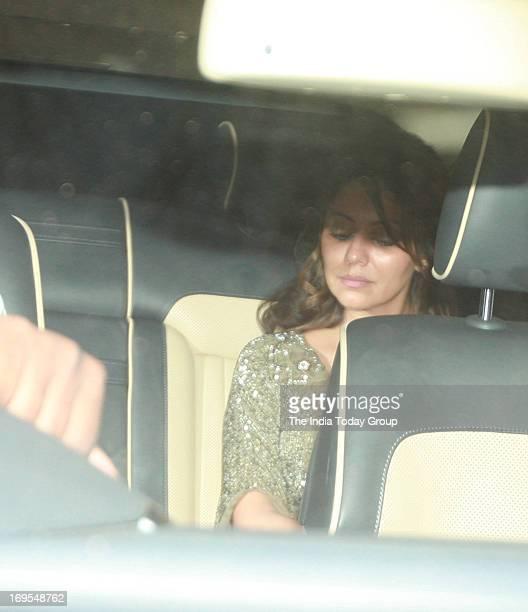 Gauri Khan arrives for Karan Johar's birthday bash on 25th May 2013 in Mumbai