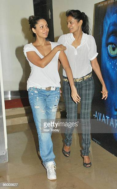 Gauri Khan at a special screening of the film Avatar organised by actor Shah Rukh Khan in Mumbai on Friday December 18 2009