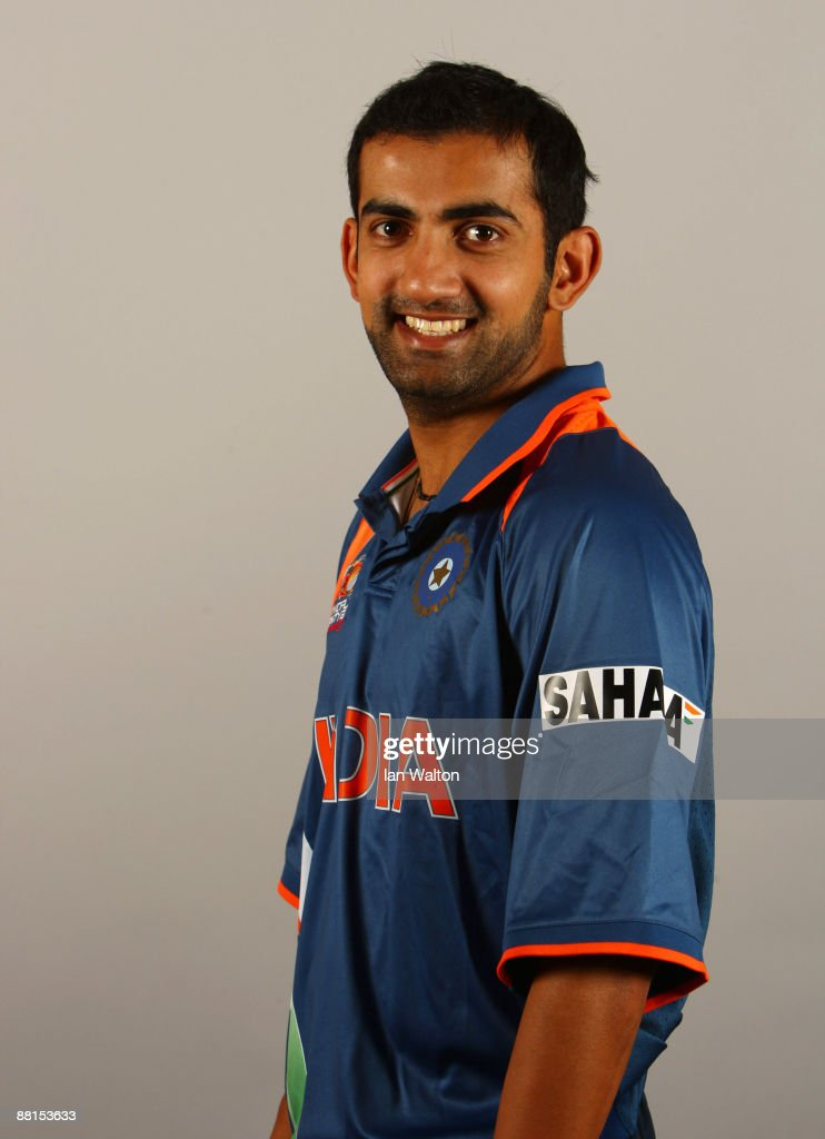 <a gi-track='captionPersonalityLinkClicked' href=/galleries/search?phrase=Gautam+Gambhir&family=editorial&specificpeople=707703 ng-click='$event.stopPropagation()'>Gautam Gambhir</a> of India poses for a portrait prior to the ICC World Twenty20 at the Royal Garden Hotel on June 2, 2009 in London, England.