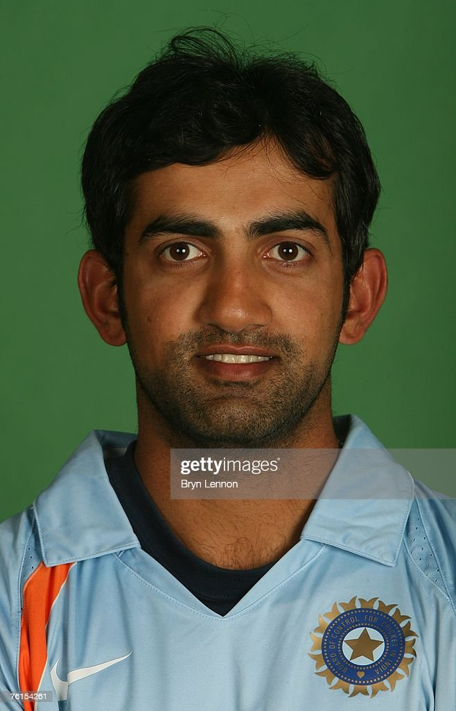 <a gi-track='captionPersonalityLinkClicked' href=/galleries/search?phrase=Gautam+Gambhir&family=editorial&specificpeople=707703 ng-click='$event.stopPropagation()'>Gautam Gambhir</a> poses during a photo call at the Marriott Hotel on August 17, 2007 in Northampton, England.