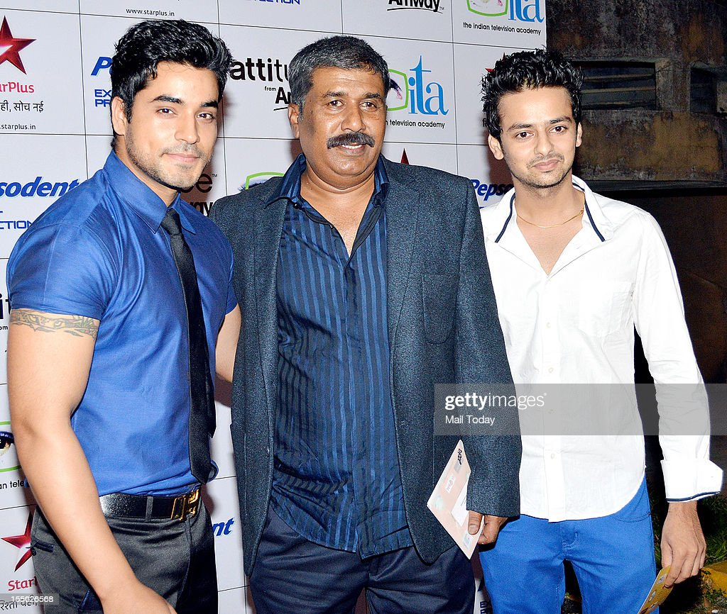Gautam Gulati, Ashok Lokhande and Varun Jain during Indian Television Academy Awards 2012 (ITA Awards), held in Mumbai on November 4, 2012.