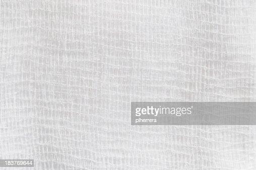 Gauze Bandage Closeup
