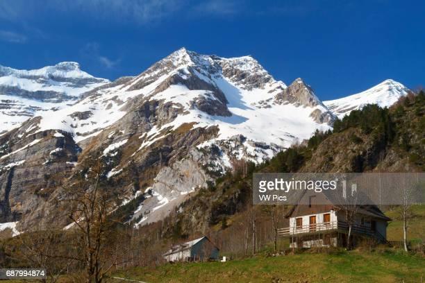 Gavarnie glacier cirque HautesPyrenees department MidiPyrenees region France Europe