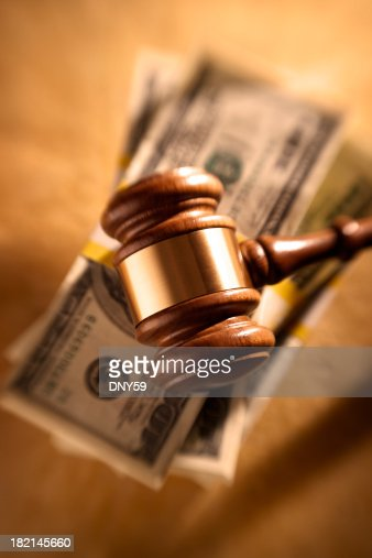 Gavel and Money Stack
