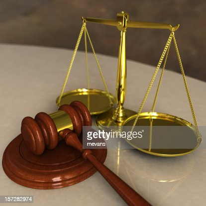 Gavel And Scales Stock Photo | Getty Images