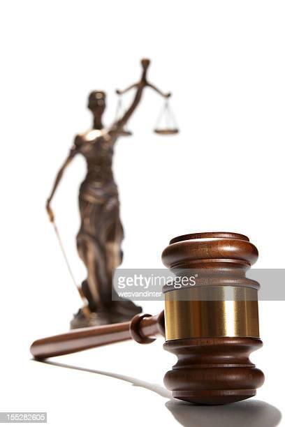 Martelo de Juiz e Themis