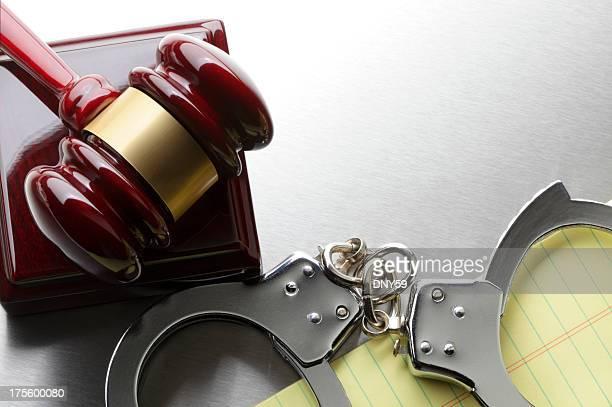Gavel & Handcuffs