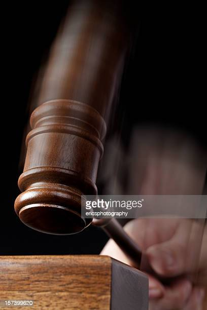 Gavel hitting sound box