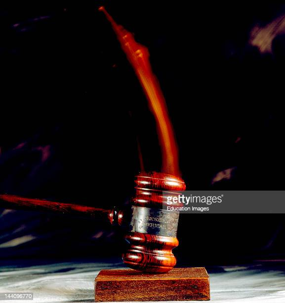 Gavel Striking Surface