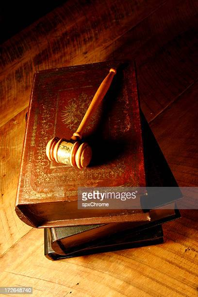 Gavel with Books