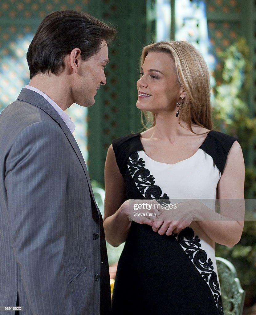 LIVE - Gavin Alexander Hammon (Reed) and Gina Tognoni (Kelly) in a scene that airs the week of May 3, 2010 on ABC Daytime's 'One Life to Live.' 'One Life to Live' airs Monday-Friday (2:00 p.m. - 3:00 p.m., ET) on the ABC Television Network. OLTL10 (Photo by Steve Fenn/ABC via Getty Images) GAVIN