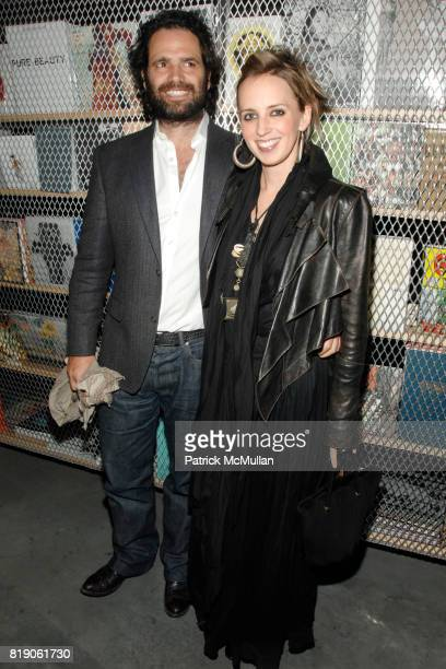 Gavin Brown and Hope Atherton attend Opening for SKIN FRUIT Selections from the Dakis Joannou Collection at The New Museum on March 2 2010 in New...