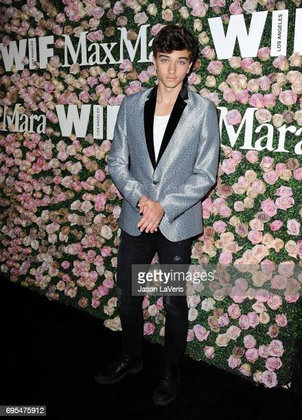 Gavin Casalegno attends Max Mara and Vanity Fair's celebration of Women In Film's Face of the Future Award recipient Zoey Deutch at Chateau Marmont...