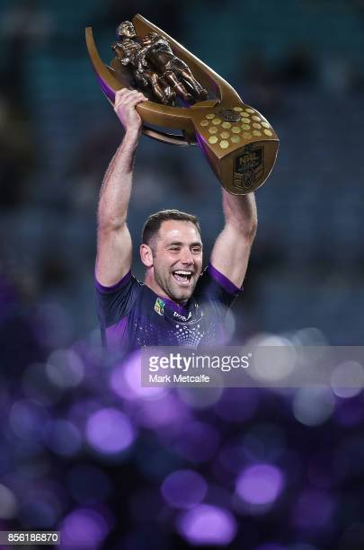 Gavin Cooper of the Cowboys looks dejected after defeat in the 2017 NRL Grand Final match between the Melbourne Storm and the North Queensland...