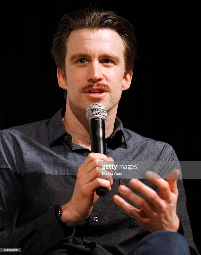 Gavin Creel appears to discuss 'She Loves Me' during the SAG-AFTRA Foundation Conversations series at The New School on April 28, 2016 in New York City.