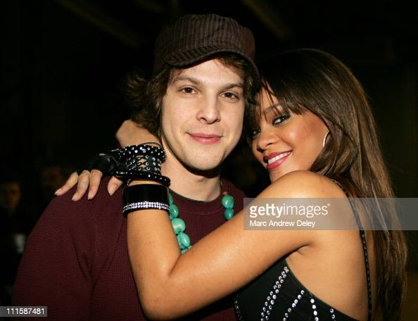 Gavin DeGraw and Rihanna during...