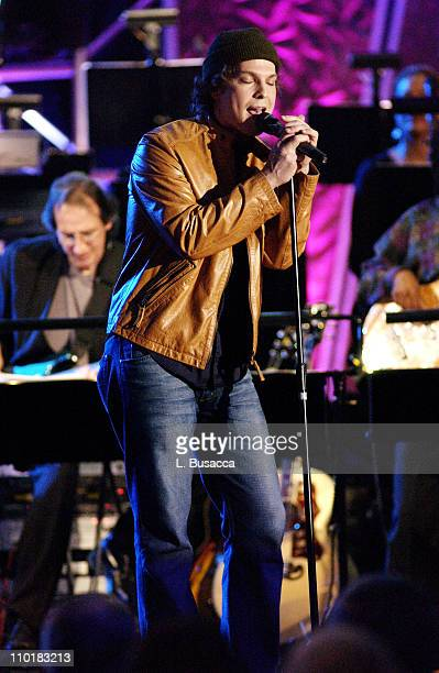 Gavin DeGraw during 34th Annual Songwriters Hall Of Fame Awards Show at Marriott Marquis in New York City New York United States