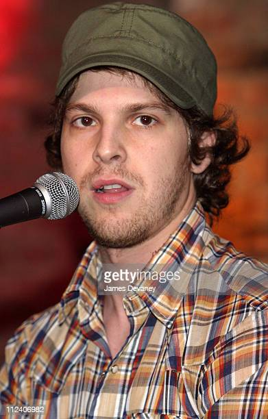 Gavin Degraw during Gavin Degraw Performs at The Bitter End 2003 New York at The Bitter End in New York City New York United States