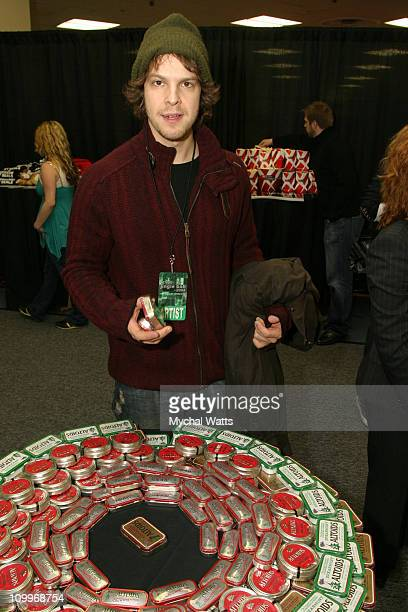 Gavin DeGraw during Z100's Jingle Ball 2004 Artist Gift Lounge by On 3 Productions at Madison Square Garden in New York City New York United States