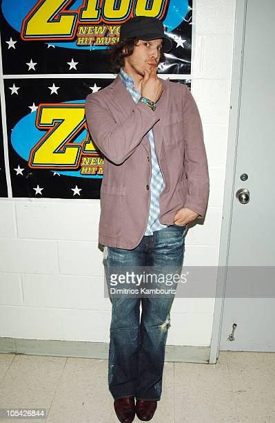 Gavin DeGraw during Z100's Zootopia 2005 Backstage at Continental Airlines Arena in East Rutherford New Jersey United States