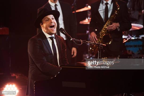 Gavin DeGraw performs during 'The Late Late Show with James Corden' Wednesday June 14 2017 On The CBS Television Network