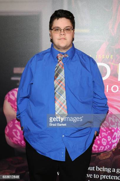 Gavin Grimm attends as National Geographic hosts the world premiere screening of 'Gender Revolution A Journey With Katie Couric' on February 2 2017...