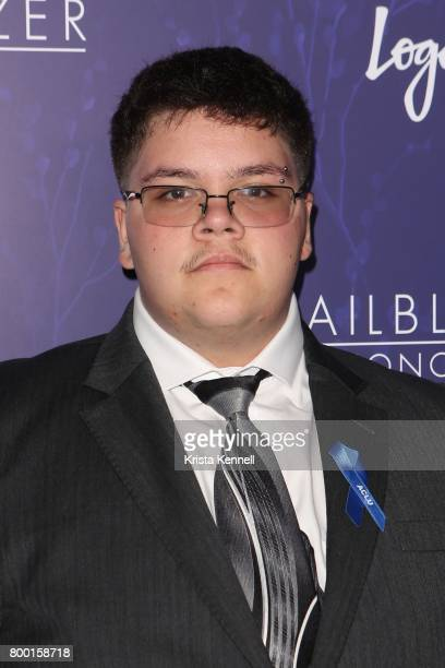Gavin Grimm attends Logo's 2017 Trailblazer Honors at The Cathedral Church of St John the Divine on June 22 2017 in New York City Photo by Krista...