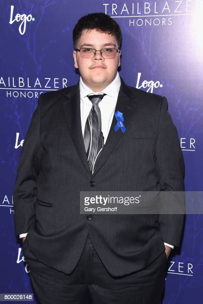 Gavin Grimm attends Logo's 2017 Trailblazer Honors Awards show at Cathedral of St John the Divine on June 22 2017 in New York City