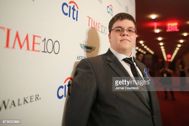 Gavin Grimm attends the 2017 Time 100 Gala at Jazz at Lincoln Center on April 25 2017 in New York City