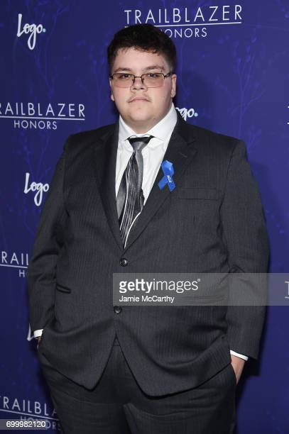 Gavin Grimm attends the Logo's 2017 Trailblazer Honors event at Cathedral of St John the Divine on June 22 2017 in New York City