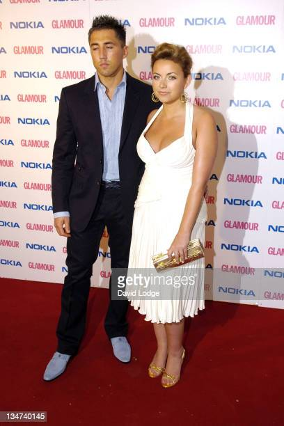 Gavin Henson and Charlotte Church during 2006 Glamour Women of the Year Awards Inside Arrivals at Berkeley Square in London Great Britain