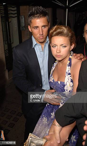 Gavin Henson and Charlotte Church during Glamour Women of the Year Awards After Party at MO*VIDA in London Great Britain
