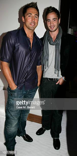 Gavin Henson and Danny Cipriani attend the PreWimbledon Party at The Roof Gardens on June 17 2010 in London England