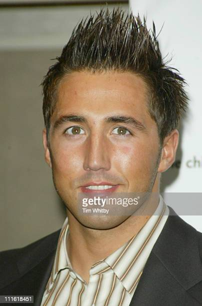 Gavin Henson during 2005 Children's Charities Trust Awards at Grosvenor House Hotel in London Great Britain