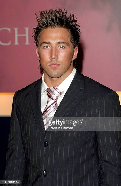 Gavin Henson during 'Hell's Kitchen II' Day 11 Arrivals at Truman Brewery in London Great Britain