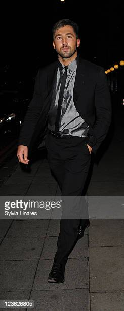 Gavin Henson sighting at The Grosvenor House on November 8 2010 in London England