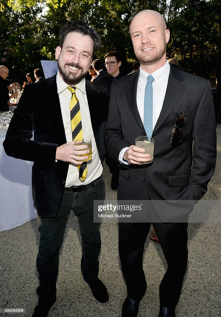 Gavin Heslet (L) and Brendan Joyce at the 13th Annual Chrysalis Butterfly Ball sponsored by Audi, Kayne Anderson and Stella Artois in Los Angeles , California on June 7th, 2014