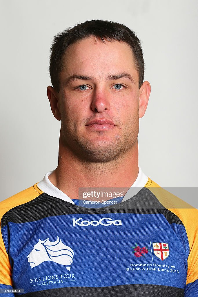 Gavin Holder of the Combined NSW/QLD Country team poses during a headshots session at The Crowne Plaza on June 9, 2013 in Newcastle, Australia.